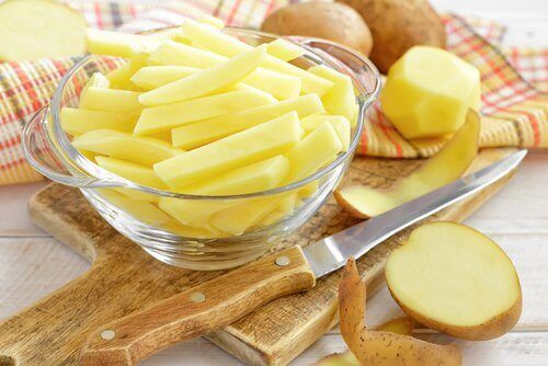 Картофена вода за коса