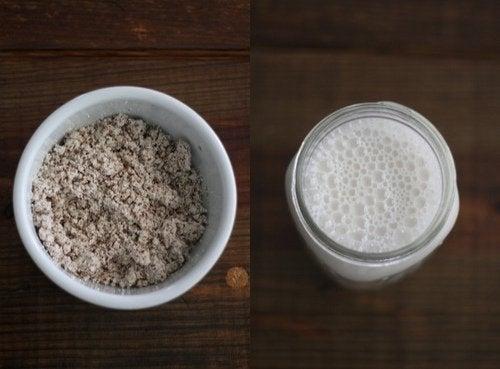 rastitelno mlyako