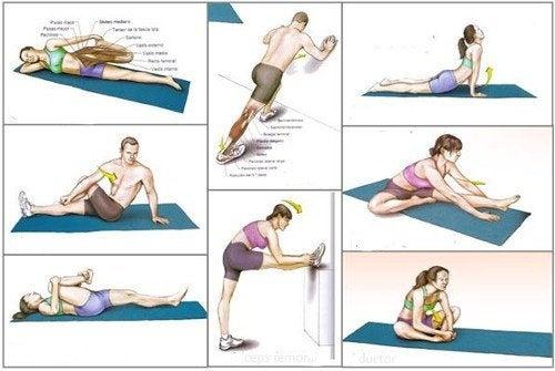 Влезте във форма с 9 упражнения за разтягане