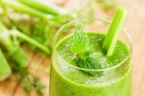 Зелен сок за детоксикация на червата