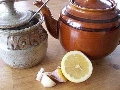 Приготвяне на  чая от чесън