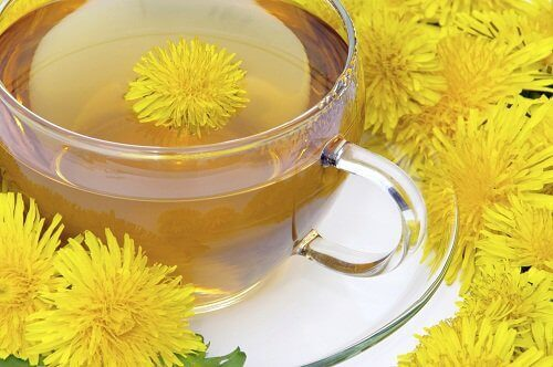 детоксикиращи напитки: чай от глухарче