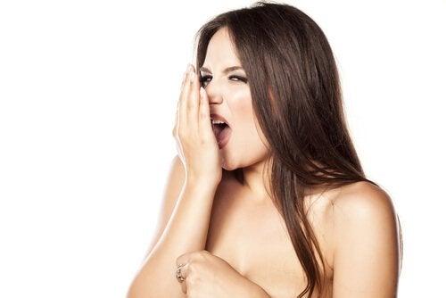 лошият дъх от устата е сигнал за проблеми