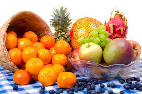 пресните плодове са предопставка за положителна енергия
