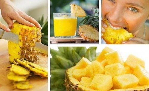 Детоксикация на тялото с ананас