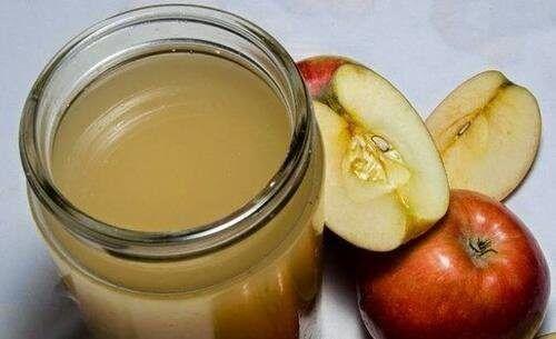 лечебно средство с домашен ябълков оцет и мед