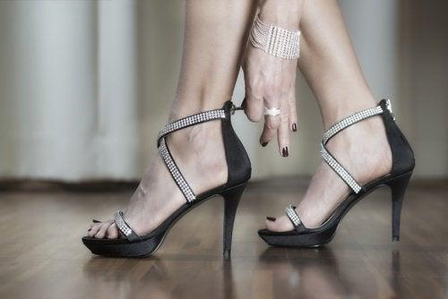 obuvki na visok tok 1
