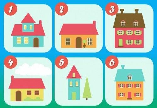 Интересно: Тестът с 6-те къщи