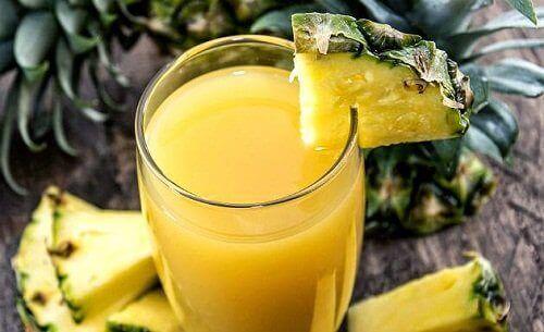 Сок от ананас за детоксикация на тялото