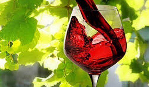 червено вино при силна умора