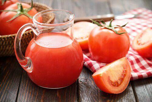 доматен сок за борба с рака