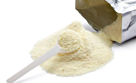 Сухо мляко за изчистване пъпките от лицето