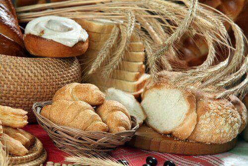 Пшеницата предизвиква образуване на секрет.