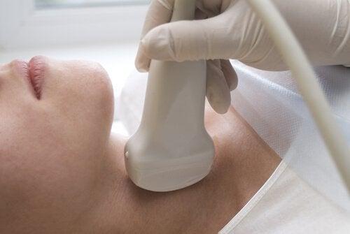 Ултразвуково сканиране на щитовидната жлеза