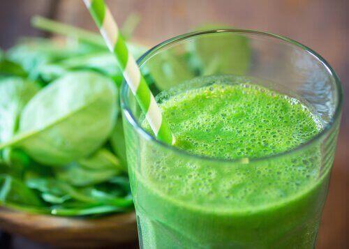 зелен сок за борба с рака