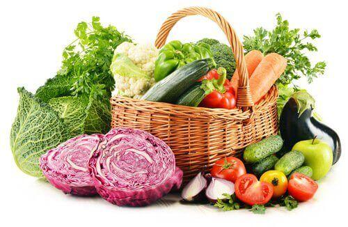 Зеленчуци за извайване на фигурата