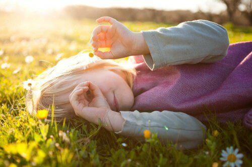 Детето трябва да научи думата любов