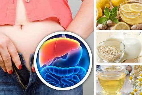 5 вечерни напитки за отслабване и прочистване на черния дроб