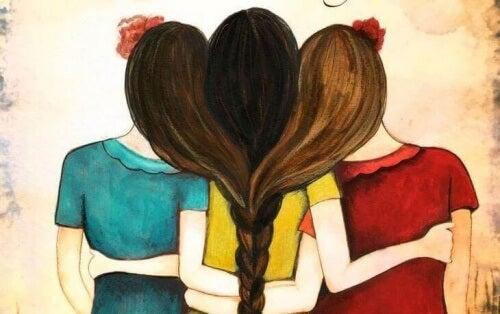 Връзката между родните братя и сестри извира от сърцето