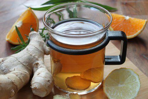 чай от джинджифил против главоболието