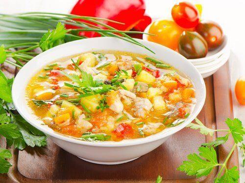 перфектната супа хидратира организма