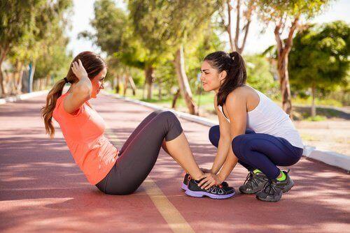 Тренирайте зада ускорите метаболизма