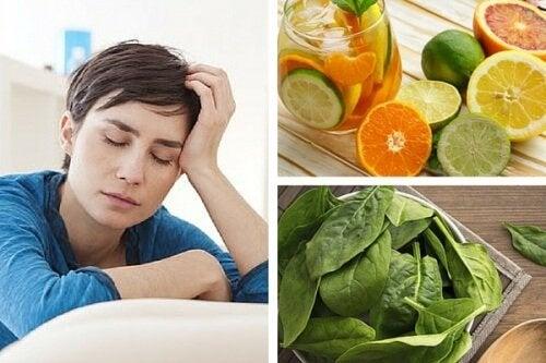 Дефицити на витамини, които могат да провокират умора