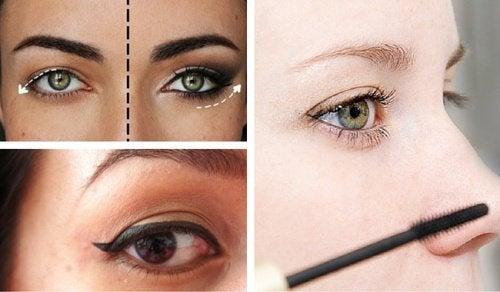 8 козметични трикове за скриване на увиснали клепачи