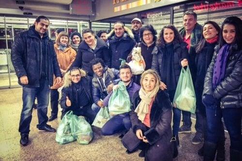 Активисти против изхвърлянето на хранителни отпадъци