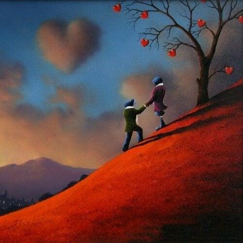Важно е да показваме любовта, не само да я чувстваме