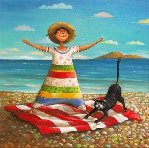 kotka na plazha