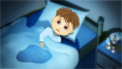 Нощно напикаване при децата: причини и лечение