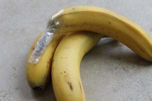 Удължете живота на бананите