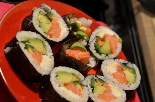 Използвайте водораслите в суши рецепти