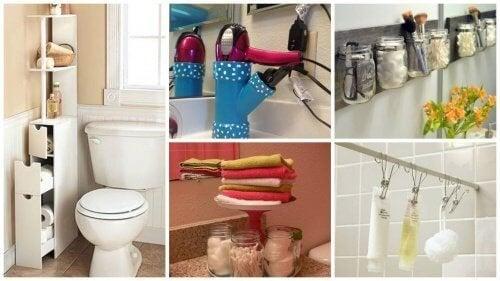 19 съвета как да спестите пространство в банята