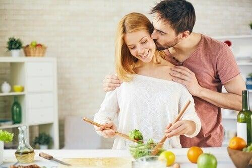 За подобряване на връзката с партньора гответе заедно
