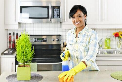 чиста кухня за дом без алергии