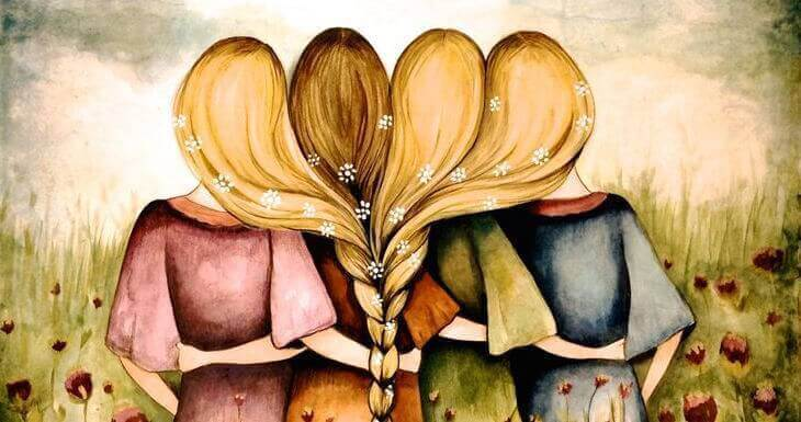 Прегръдката ни напомня че не сме сами.