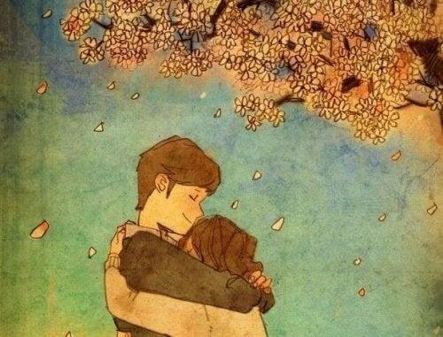 Няма нищо по-успокояващо от прегръдката
