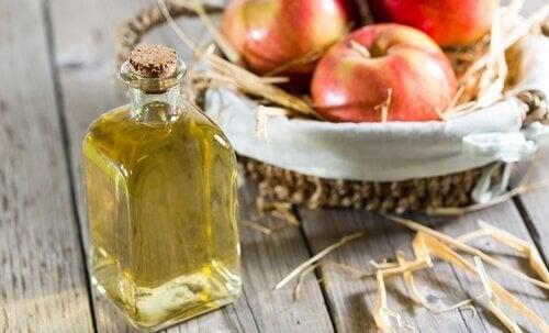 ябълков оцет като лечение на гъбички по ноктите