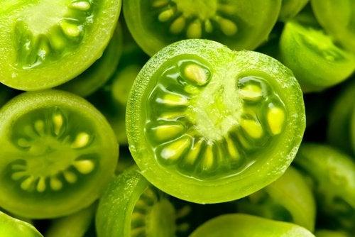 лечение на паякообразните вени със зелени домати