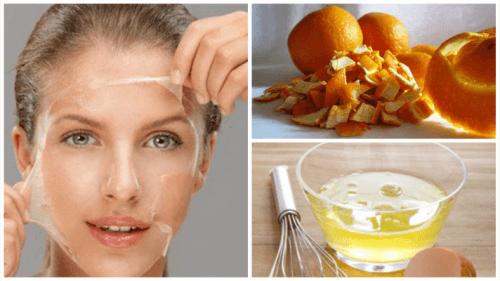 Тонизирайте лицето си с маска от яйчен белтък и портокалови кори