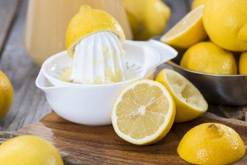 Маска с лимон и желатин