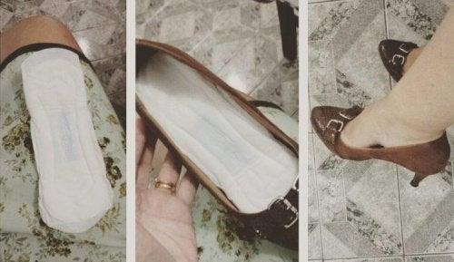 Класическият трик за издължени обувки - стелки