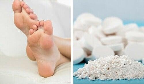 Аспирин срещу мазолите