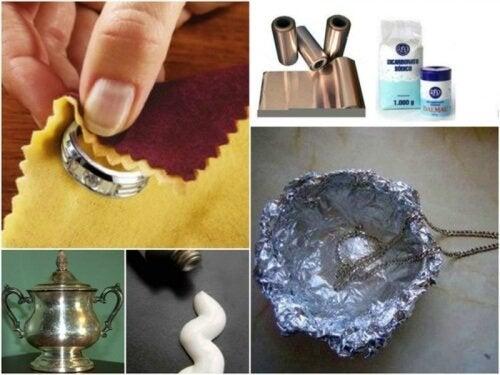 7 трика как да почистите среброто у дома