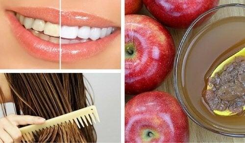 Оцет от ябълки - 8 козметични приложения