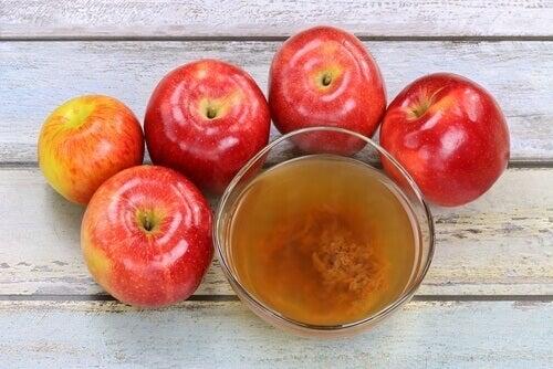 свойствата на ябълковия оцет срещу гъбичките