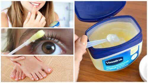 Вазелинът - 12 козметични употреби