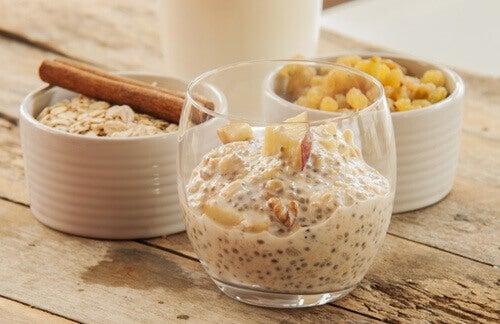 Пригответе закуската от овесени ядки и чия още от вечерта